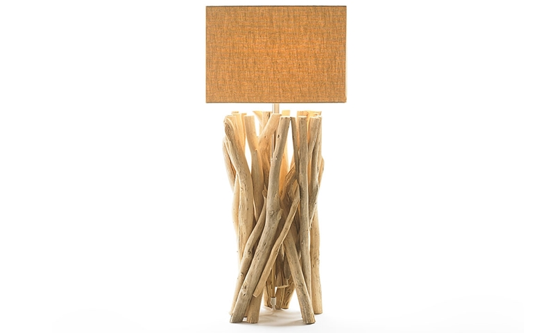 Picture of Explorer Driftwood Sculpture Table Lamp