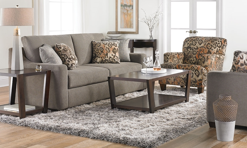 Picture of Klaussner 87-inch Argos Sofa in Charcoal