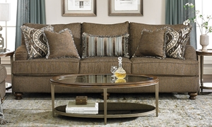 Picture of Klaussner 99-inch Declan Charles of London Sofa