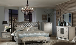 Picture of Jane Seymour/Michael Amini Hollywood Swank Bedroom