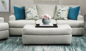 Picture of Klaussner 90-inch Hadley Sofa in Mist