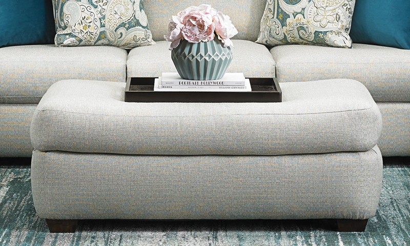 Picture of Klaussner Hadley Ottoman