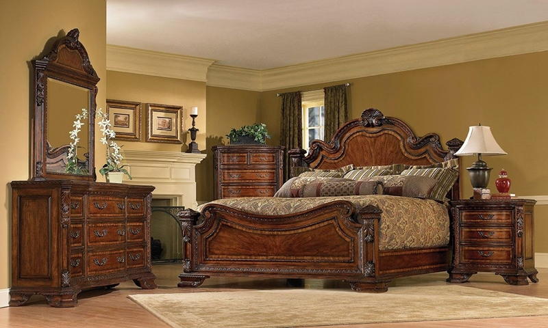Picture of A.R.T. Old World Estate Queen Bedroom