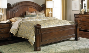 Picture of Bella Vista Old World Queen Mansion Bed