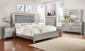 Picture of Marilyn Glam Upholstered Queen Bedroom
