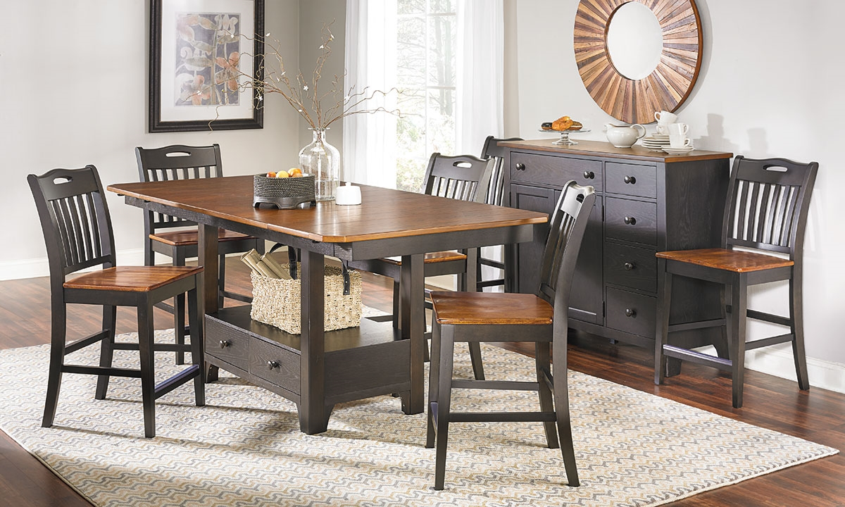 picture of american heritage counter height dining set