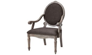 Picture of Brentwood French Open Arm Accent Chair