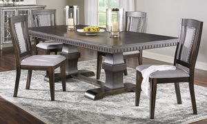 Picture of Morrison Trestle Table Dining Set with Server