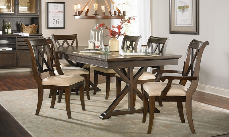 Picture of Thatcher Trestle Table Dining Set