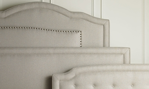 Picture of Handmade Upholstered Queen Headboards