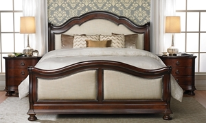 Picture of Chateau Emilion Upholstered Queen Mansion Bed