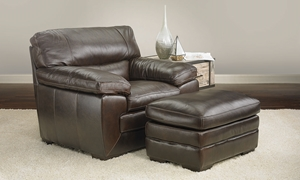 Picture of Biscayne Leather Arm Chair