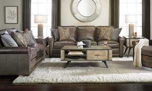 Picture of Scranton 91-Inch Leather Sofa