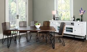 Picture of Palmer Solid Parota Dining Table
