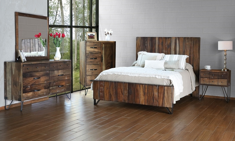 Picture of Palmer Parota Queen Platform Bed