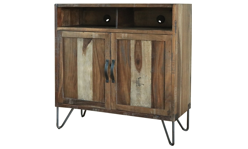 Picture of Palmer Parota & Iron Media Chest