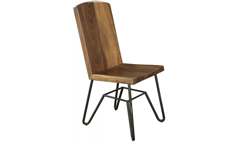 Picture of Palmer Parota & Iron Side Chair