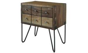 Picture of Palmer Parota & Iron Nightstand