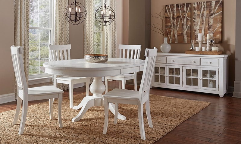 Picture of Maddie Reclaimed Pine Round Dining Set