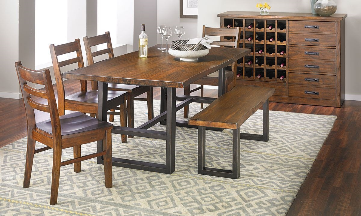 Good Picture Of Wallace II Pine Dining Set