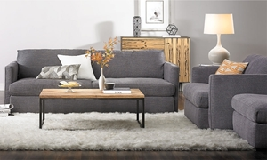 Picture of Lincoln Park Handmade 92-Inch Sofa