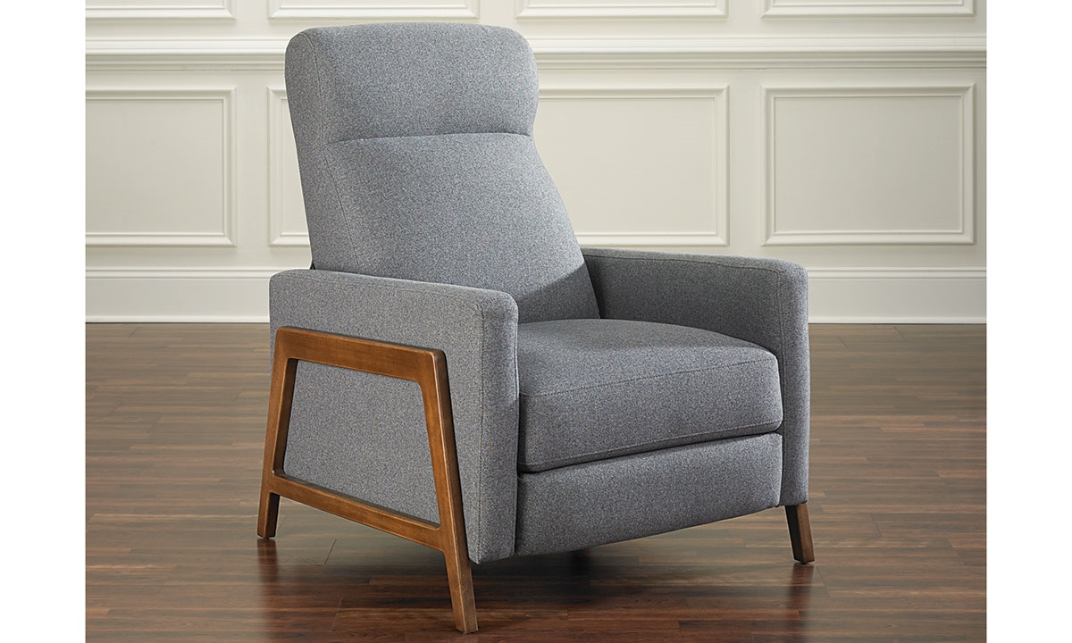 Picture of Mid-Century Modern Pushback Recliner  sc 1 st  Haynes Furniture & Mid-Century Modern Pushback Recliner | Haynes Furniture ... islam-shia.org