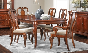 Picture of Evolution Queen Anne 5-Piece Dining Set