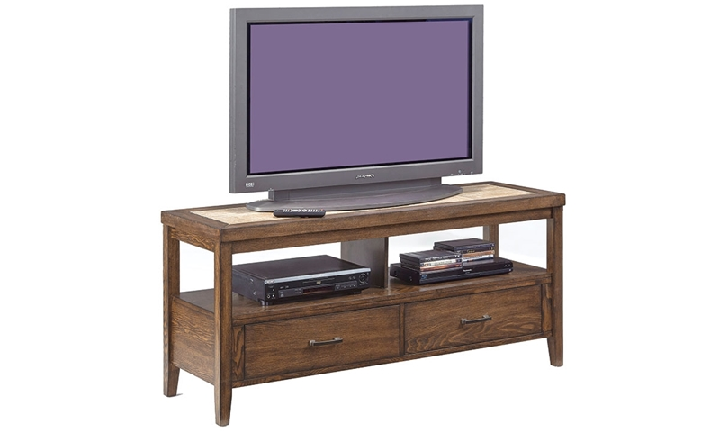 Picture of Forest Brook 54-Inch Ceramic & Ash Media Console