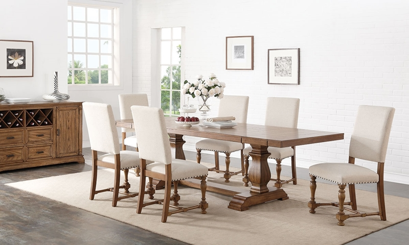 Picture of 7-Piece Country Chic Dining Set