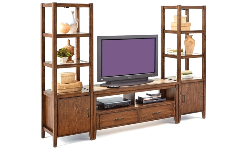 Picture of Forest Brook 98-Inch Ceramic & Ash Wall Console