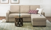 Picture of Modern Track Arm Sofa with Reversible Chaise