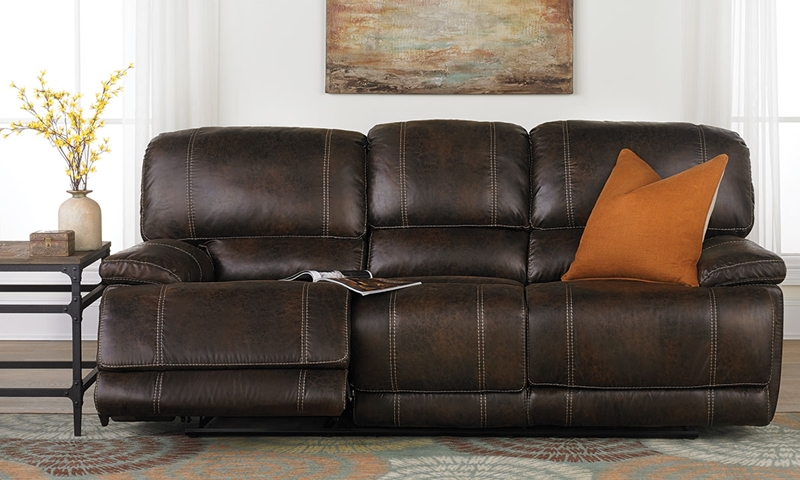 Picture of Klaussner Foster 90-Inch Dual Reclining Sofa