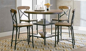 Picture of Ridgewood 5-piece Pub Height Bistro Dining Set
