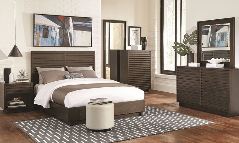 Picture of Scott Living Harper Platform Queen Bedroom
