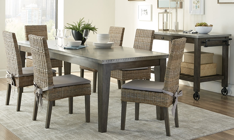 Picture Of Scott Living Industrial Chic Dining Set
