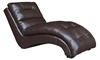 Picture of 66-Inch Chaise Lounge Chair in Red