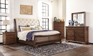 Picture of Trisha Yearwood Dottie Queen Sleigh Bedroom