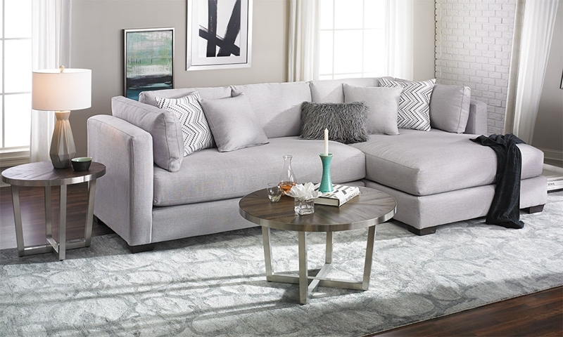 Parker Oversized Contemporary Sectional Sofa Haynes