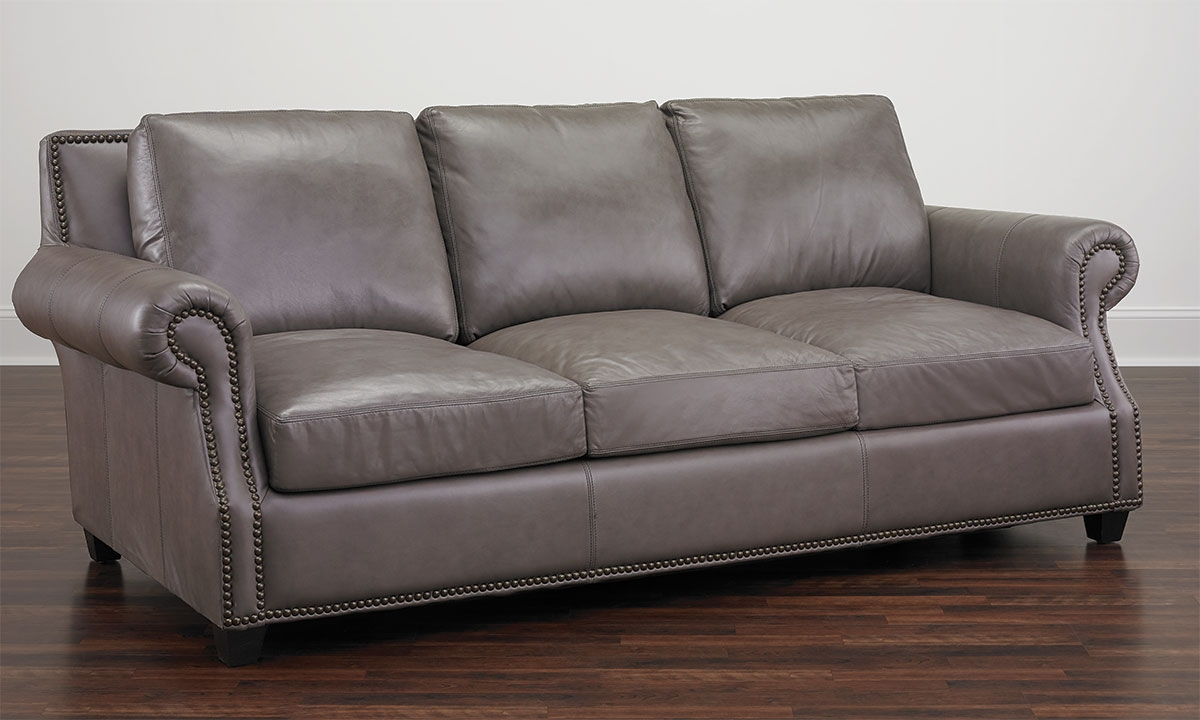 Rocky Mountain Leather Prime Top Grain Leather Sofa