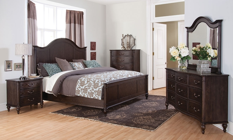Picture of Easton Complete Queen Mansion Bedroom