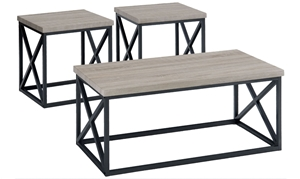 Picture of Orion Ash 3-Piece Occasional Table Set