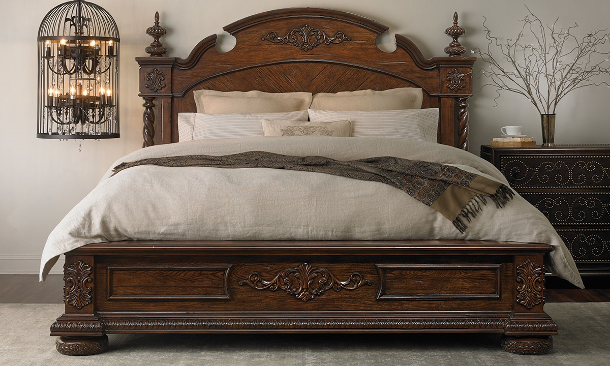 Haynes Furniture Yorkshire Complete French Empire Queen Bedroom