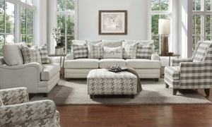 Picture of 94-Inch Wool Feel Charles of London Sofa