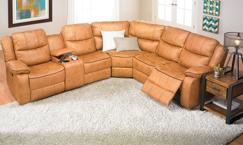 Picture of Dual Power Reclining Storage Sectional