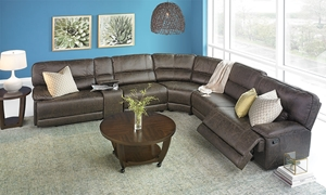 Picture of Karma Oversized Reclining Storage Sectional