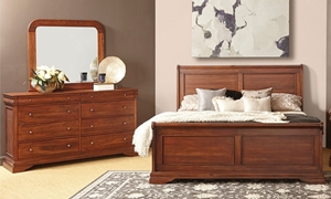 Picture of Frenchie Louis Philippe Queen Sleigh Bedroom