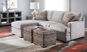 Picture of Neptune Track Arm Sofa with Reversible Chaise