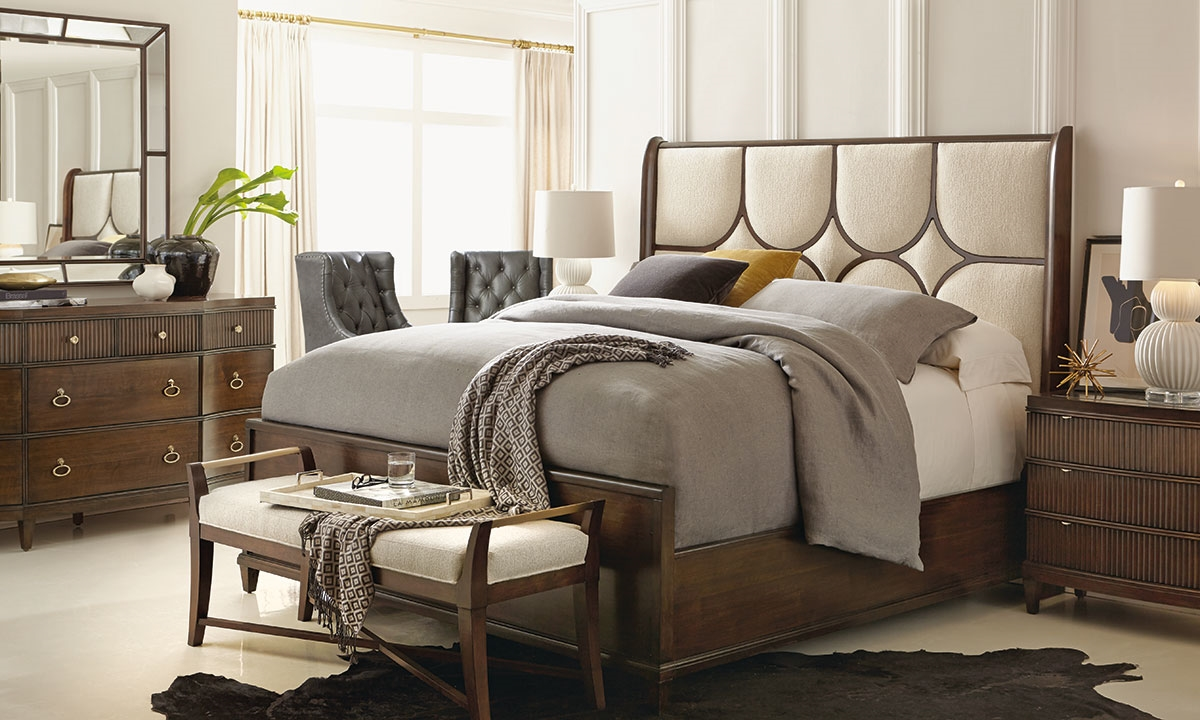 haynes furniture bernhardt beverly glen upholstered king 17680 | 0003694 bernhardt beverly glen upholstered king bedroom