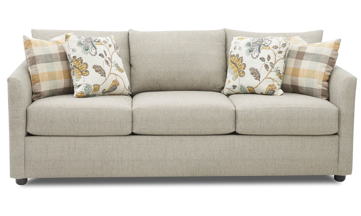 ... Picture Of Trisha Yearwood Atlanta Tapered Flare Arm Sofa