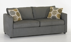 Picture of Klaussner Jacobs Microsuede Queen Sleeper Sofa